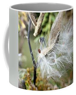 Flight Of The Milkweed Coffee Mug