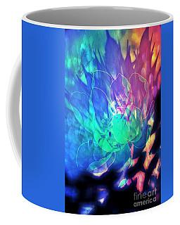 Floral Abstract 17-01 Coffee Mug
