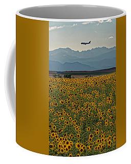 Flower Landing Coffee Mug