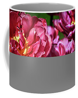 Flowers And Fractals Coffee Mug