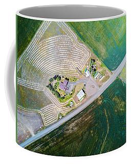 Flying Above Palouse Coffee Mug