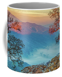 Fog In The Valley Coffee Mug