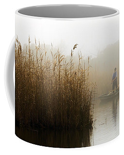 Foggy Fishing Coffee Mug
