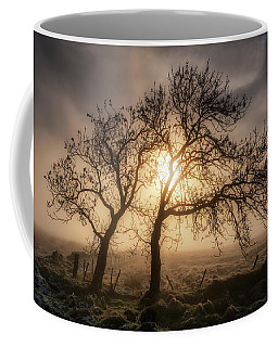 Coffee Mug featuring the photograph Foggy Morning by Jeremy Lavender Photography