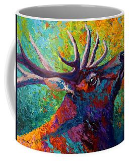 Forest Echo - Bull Elk Coffee Mug