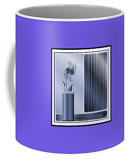 Coffee Mug featuring the digital art Forevermore #3 by Iris Gelbart