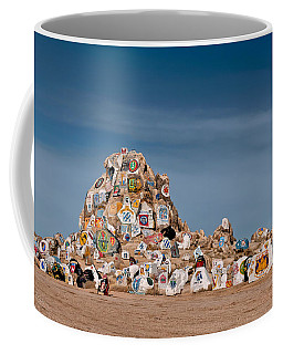 Coffee Mug featuring the photograph Fort Irwin by Jim Thompson