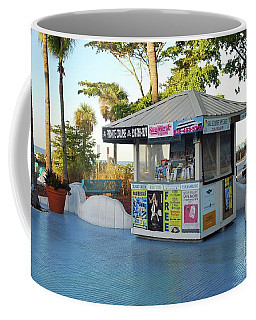 Coffee Mug featuring the photograph Fort Myers Beach by Gary Wonning
