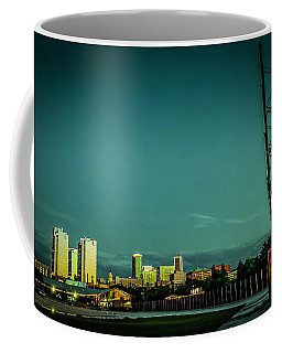 Fortworth Texas Cityscape Coffee Mug