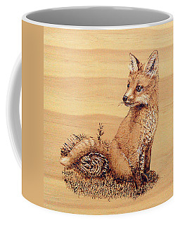 Fox Coffee Mug by Ron Haist