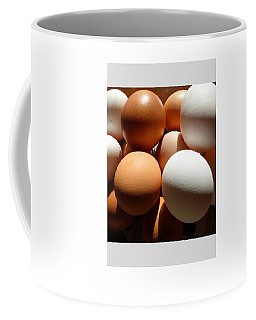 Framed Eggs Coffee Mug