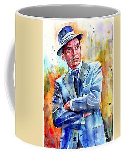 Frank Sinatra Young Painting Coffee Mug
