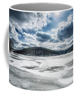 Coffee Mug featuring the photograph Frozen Lake by Thomas R Fletcher