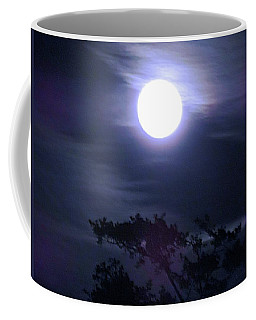 Full Moon Falling Coffee Mug