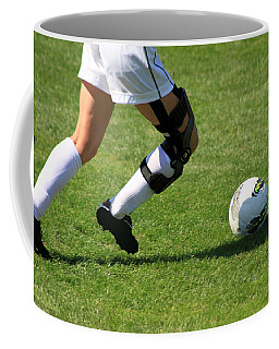 Futbol Coffee Mug by Laddie Halupa