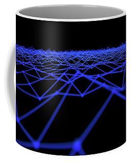 Futuristic Plexis Background Coffee Mug
