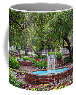 Coffee Mug featuring the photograph Gardens At Prescott Park by Sharon Seaward