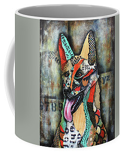 German Shepherd Coffee Mug by Patricia Lintner