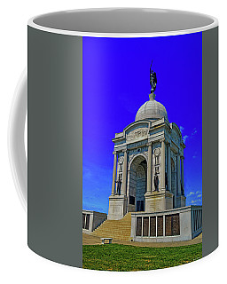 Coffee Mug featuring the photograph Gettysburg - Pennsylvania Memorial 001 by George Bostian