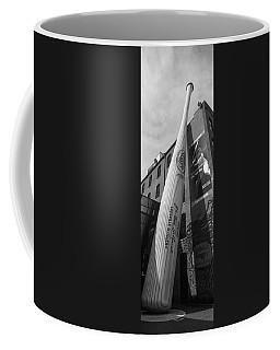 Giant Baseball Bat Adorns Coffee Mug
