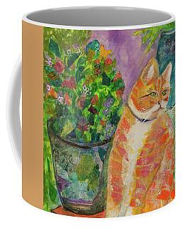 Ginger With Flowers Coffee Mug