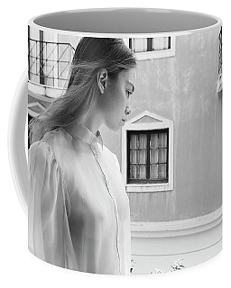 Girl In Profile Coffee Mug