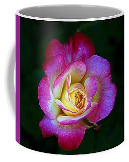 Glowing Rose Coffee Mug by Karen McKenzie McAdoo