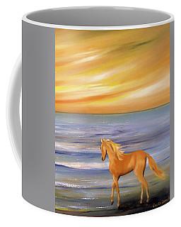 Gold And Silver Coffee Mug