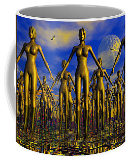Coffee Mug featuring the photograph Gold by Mark Blauhoefer