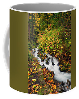 Coffee Mug featuring the photograph Golden Bend by Mike Dawson