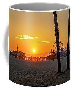 Golden Glow At Sunset Coffee Mug