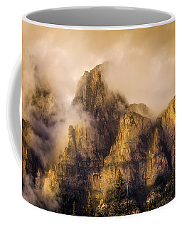 Coffee Mug featuring the photograph Golden Glow by Ronald Santini