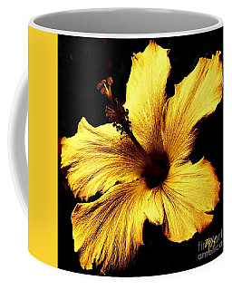 Golden Hibiscus Coffee Mug