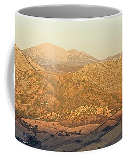 Golden Light In Andalusia Coffee Mug