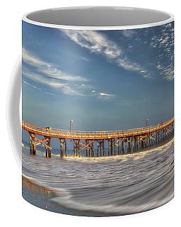 Goleta Beach And Pier Coffee Mug