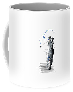 Golfer Coffee Mug