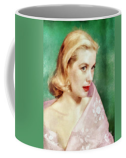Grace Kelly By John Springfield Coffee Mug