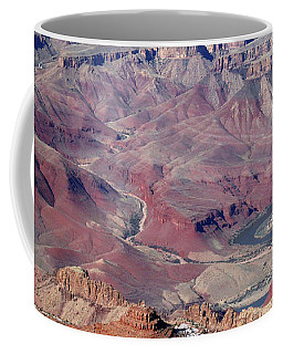 Grand Canyon South Rim Colors Coffee Mug