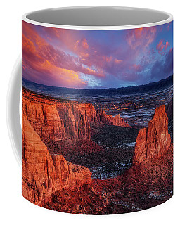 Coffee Mug featuring the photograph Grand View Sunrise by Darren White
