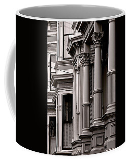 Gray By The Bay Coffee Mug by Ira Shander