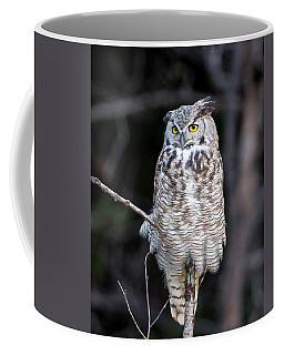 Great Horned Owl  Coffee Mug by Jack Bell