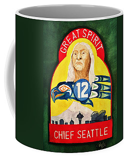 Great Spirit Seattle 12s Coffee Mug