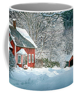 Green River Bridge In Snow Coffee Mug