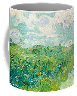Green Wheat Fields   Auvers Coffee Mug