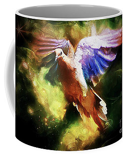 Guardian Angel Coffee Mug by Tina  LeCour