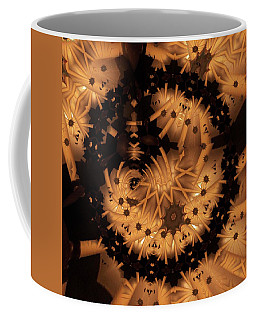 Half Moon Coffee Mug by Ron Bissett