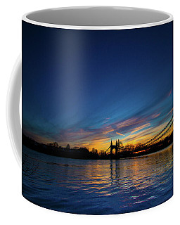 Coffee Mug featuring the photograph Hammersmith Bridge London  by Mariusz Czajkowski