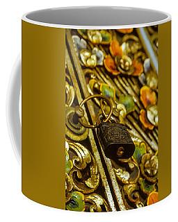 Hand Carved Security Coffee Mug