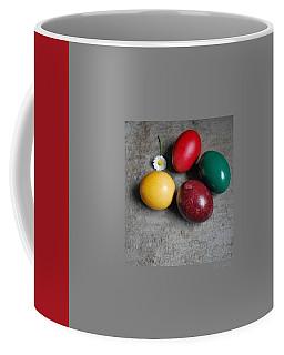 Happy Easter Coffee Mug by Marija Djedovic
