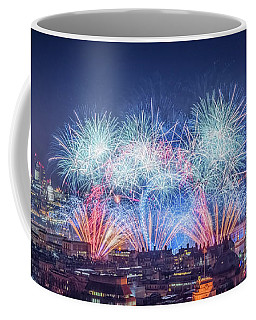 Happy New Year London Coffee Mug